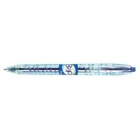 Gélové pero Pilot Begreen B2P, klikacie, modré