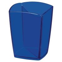 Portalápices poliestireno azul translúcido CEPPRO Tonic  Dimensiones: 95x74x74mm