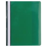 Exacompta 439915B Premium snelhechtmappen A4 PVC groen - pak van 10