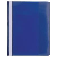 Exacompta 439907B Premium snelhechtmappen A4 PVC blauw - pak van 10