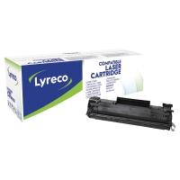 Toner Lyreco kompatibilný HP CB436A čierny do laserových tlačiarní