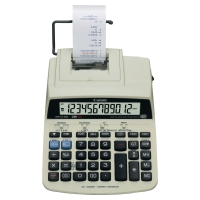 Calculadora impresora CANON MP121-MG de 12 dígitos