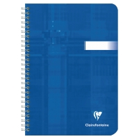 NOTATBOK CLAIREFONTAINE METRIC A5 90G 90 ARK LINJERT