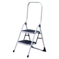 Oceľový rebrík Safetool skladací 2-stupienkový