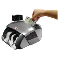 Contador y detector de billetes falsos LD-80 gris Dimensiones: 289x180x255mm