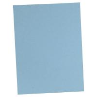 Lyreco fardes chemise A4 carton 250g bleu - paquet de 100