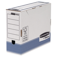 SCATOLE PER ARCHIVIO BANKERS BOX FELLOWES IN CARTONE A4 MAXI DORSO 10 - CONF. 10
