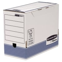 SCATOLE PER ARCHIVIO BANKERS BOX FELLOWES IN CARTONE A4 MAXI DORSO 15 - CONF. 10