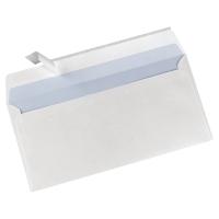 Standaard enveloppen 110x220mm siliconenstrook 90g - doos van 500
