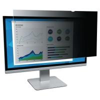 Filtro de privacidad 3M Black para pantalla de 22   aspect ratio 16:10