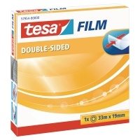 Cinta adhesiva de doble cara TESA Dimensiones: 19 mm x 33 m