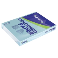 LYRECO COLOURED COPY PAPER A3 80G - BLUE - REAM OF 500 SHEETS