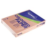 Lyreco gekleurd papier A3 80g zalm - pak van 500 vellen