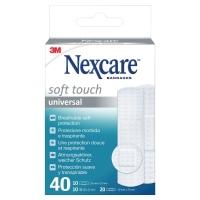Nexcare Soft Heftpflaster, assortiert, Packung à 40 Stück