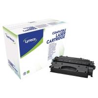 Tóner láser LYRECO negro compatible con HP 05X alta capacidad LJ-P2055 Series