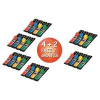 Zakładki indeksujące POST-IT® w opakowaniu promocyjnym 4 + 2 gratis