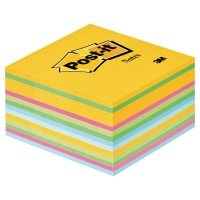 Cubo de 450 notas reposicionables Post-it colores ultra