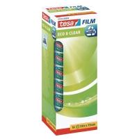 Pack de 8 cintas adhesiva cristal TESA Eo&Clear Dimensiones:19mm x 33 m