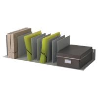 Módulo organizador vertical 10 separadores móviles PAPERFLOW 858x233x323mm