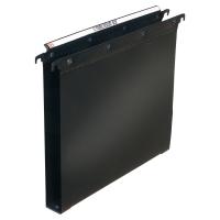 Závesné obaly typu   U   PP L´Oblique A4 čierne, balenie 10 kusov