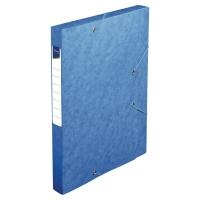 Lyreco opbergdoos karton rug van 2,5cm blauw