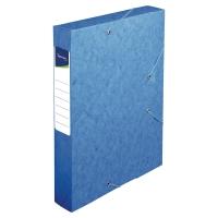 Lyreco opbergdoos karton rug van 6cm blauw