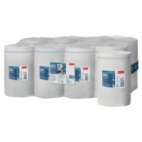 Caja de 11 bobinas de toallas TORK papel virgen 1 capa 120 m blanco