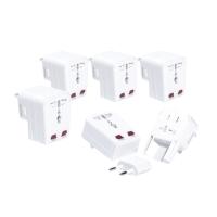 Pack de 5 adaptadores de enchufe universal válido para 150 países