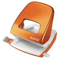 PERFORATEUR LEITZ 5008 WOW 2 TROUS 30 FEUILLES ORANGE METALLISE
