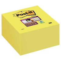 Cubo de notas Super Sticky 350 hojas 76x76 mm color amarillo ultra