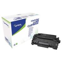 Tóner láser LYRECO negro 55A compatible con HP LJ P3015 Series