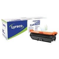 LASERTONER LYRECO KOMPATIBEL HP CE250X SORT