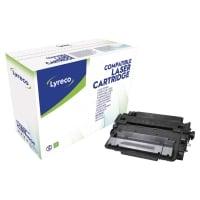Lyreco compatible HP CE255X cartouche laser nr.55X HC noire [12.500 pages]