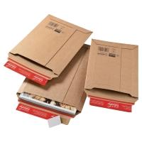Sztywna koperta wysyłkowa COLOMPAC 250x360x50mm, brązowa, 1 sztuka