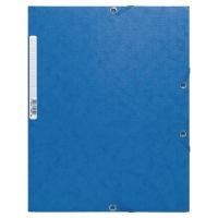 Gummizugmappe Exacompta 55852E A4, Pressspan 450g/m2, blau