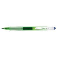 Lyreco gélové pero recyklované, klikacie, modré