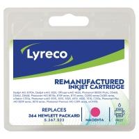 Cartucho de tinta LYRECO 364 magenta compatible con HP para PhotoSmart C5380