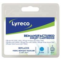 Cartucho de tinta LYRECO cian alta capacidad 920XL compatible con OJ-6000