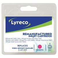 Lyreco compatibele HP CD973A inktcartridge nr.920XL rood [700 pag]