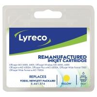 Lyreco compatibele HP CD974A inktcartridge nr.920XL geel [700 pag]