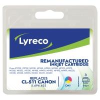 Cartridge Lyreco kompatibilný Canon CL511 3-farebný do atramentových tlačiarní