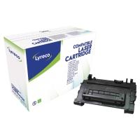 Tóner láser LYRECO negro compatible con HP 90A para LJ M4555/Pro 600 M601/2/3