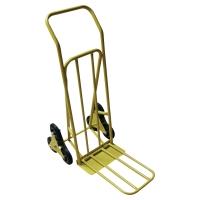 Carrito especial escaleras fabricado en acero y ruedas de goma