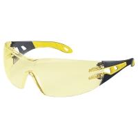 Okulary ochronne Uvex pheos 9192.385, soczewka żółta (amber), filtr UV 2C-1,2