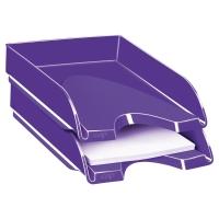 Bandeja de sobremesa lila CEPPRO GLOSS Dimensiones:   257x66x348mm