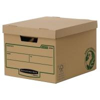 Archivbox Bankers Box Earth Serie, B325xT260xH375 mm, braun, Pk. à 10 Stk.