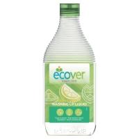 Lavavajillas líquido ECOVER con aroma a limón y aloe vera  de 1L