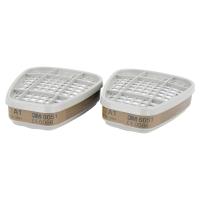 Pack de 8 filtros Tipo A1 de protección contra vapores y gases 3M 6051