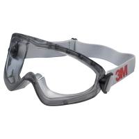Vollsicht Schutzbrille 3M 2890, Filtertyp 2C, anthrazit, Scheibe farblos