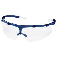 Schutzbrille Uvex 9178.065 Super Fit, Filtertyp 2C, navy blue, Scheibe farblos